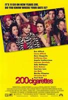 """200 Cigarettes - 11"""" x 17"""", FulcrumGallery.com brand"""