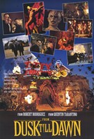"""From Dusk Till Dawn From Rodriguez And Tarantino - 11"""" x 17"""""""