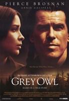 "Grey Owl - 11"" x 17"""