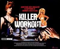 "Killer Workout - 17"" x 11"" - $15.49"