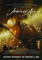 """Messenger: The Story of Joan of Arc By Luc Besson - 11"""" x 17"""""""