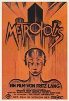 "Metropolis Orange - 11"" x 17"""