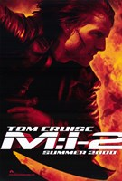 """Mission: Impossible 2 Tom Cruise - 11"""" x 17"""""""