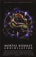 """Mortal Kombat 2: Annihilation Film - 11"""" x 17"""""""