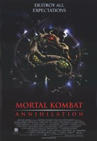 "Mortal Kombat 2: Annihilation Movie - 11"" x 17"""