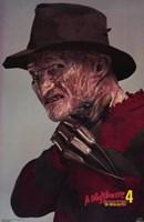 A Nightmare on Elm Street 4: Dream Master Fine Art Print