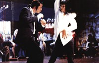 Pulp Fiction Dancing Fine Art Print