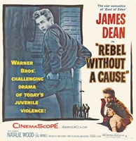 Rebel Without a Cause The Star Sensation Fine Art Print