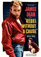 """Rebel Without a Cause and they both came from good families - 11"""" x 17"""""""