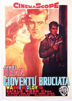 Rebel Without a Cause with a Gun Fine Art Print