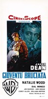 Rebel Without a Cause Natalie Wood Italian Fine Art Print