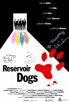 "Reservoir Dogs Signature - 11"" x 17"""