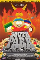 South Park: Bigger, Longer and Uncut - Brazilian - style B Wall Poster
