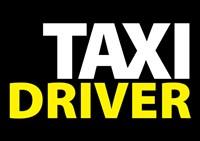 Taxi Driver Text Fine Art Print