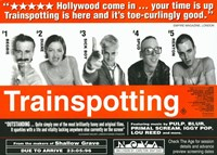 Trainspotting - horizontal Framed Print