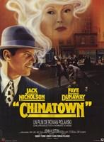 """Chinatown Jack Nicholson Faye Dunaway - 11"""" x 17"""""""