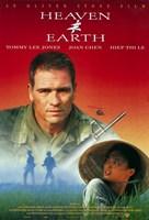 "Heaven and Earth Tommy Lee Jones - 11"" x 17"" - $15.49"