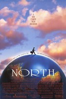 """North - 11"""" x 17"""""""