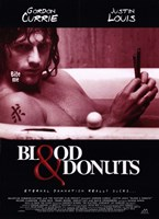 """Blood and Donuts - 11"""" x 17"""""""