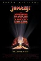 """Jumanji Movie - 11"""" x 17"""""""