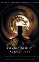"Mortal Kombat - Kombat begins - 11"" x 17"""