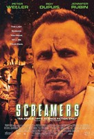 """Screamers - Peter Weller - 11"""" x 17"""""""