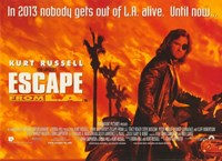 """Escape From L.A. - 17"""" x 11"""""""