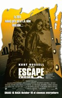 """Escape From L.A. - 11"""" x 17"""""""