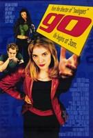 """Go - 11"""" x 17"""", FulcrumGallery.com brand"""