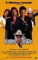 "Happy Texas - 11"" x 17"", FulcrumGallery.com brand"