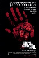 """House on Haunted Hill 1999 - 11"""" x 17"""""""