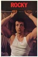 Rocky Sylvester Stallone Fine Art Print