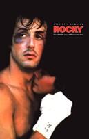 """Rocky Black Eye - 11"""" x 17"""""""