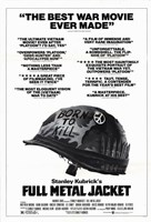 Full Metal Jacket Black and White Fine Art Print