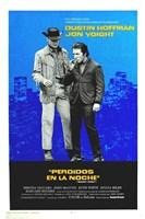 "Midnight Cowboy - blue - 11"" x 17"", FulcrumGallery.com brand"