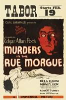 "Murders in the Rue Morgue - 11"" x 17"", FulcrumGallery.com brand"