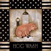 Hog Wash Framed Print