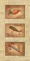Fishing Lures Fine Art Print