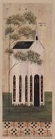 The White Church Framed Print