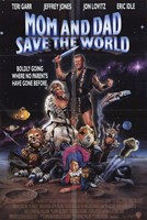 """Mom and Dad Save the World - 11"""" x 17"""""""