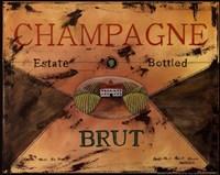 Champagne Framed Print