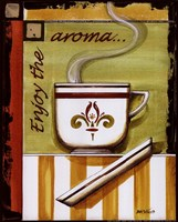 Enjoy the Aroma Fine Art Print