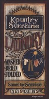 Kountry Sunshine Laundry Fine Art Print