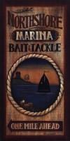 Northshore Marina Fine Art Print