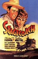 """Stagecoach Wagon - 11"""" x 17"""""""