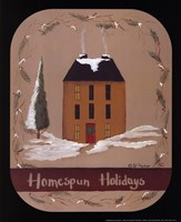 Homespun Holidays Fine Art Print