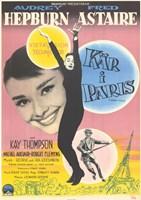 """Funny Face in Paris - 11"""" x 17"""" - $15.49"""