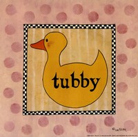 "Tubby by Lisa Hilliker - 10"" x 10"""