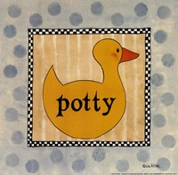 Potty Fine Art Print