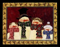 "The Flake Family by Lisa Hilliker - 10"" x 8"" - $9.99"